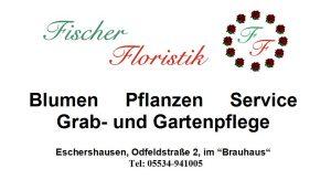Fischer Floristik